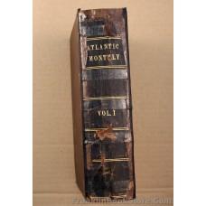 Douglas Jerrold 1857 Atlantic Monthly Volume 1 Henry Wadsworth Longfellow