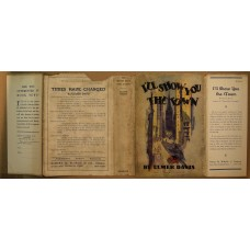 1924 Original Dust Jacket for I'll show you the Town by Elmer Davis