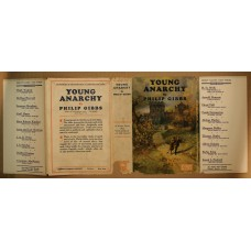 1926 Original Dust Jacket for Young Anarchy by Philip Gibbs