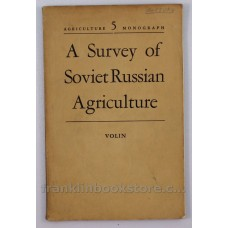 A Survey of Soviet Russian Agriculture 1951