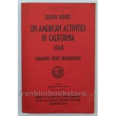 1948 California Senate Un-American Activities Report, Communist Front Organizations