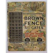 1915 Brown Fence and Gates Catalog