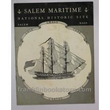 1959 Salem Maritime National Historic Site Pamphlet