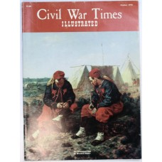 Civil War Times October 1970 The Stanton - Sherman Controversy,Libby Prison