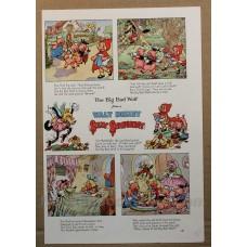 Walt Disney The Big Bad Wolf 1937