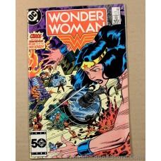 Wonder Woman #326 1985 DC Comic Tropidor Heat