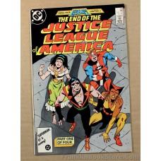 Justice League of America #258 DC Comic 1987