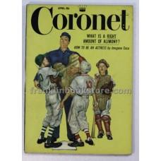 Coronet April 1955 Babe Ruth
