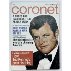 Coronet August 1969 Ted Kennedy