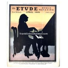 Etude April 1926 Hungarian Rhythm and Melody
