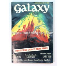 Galaxy Science Fiction August September 1970 About A Secret Crocodile