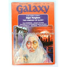 Galaxy Science Fiction August 1974