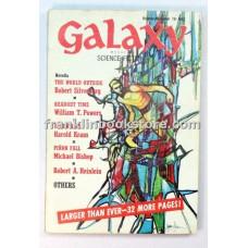 Galaxy Science Fiction October-November 1970
