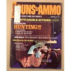 God created men, Col. Colt made them Equal - Peace Maker Guns & Ammo February 1971