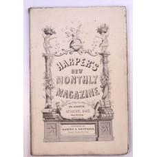 Harper's Monthly August 1857