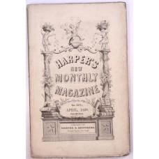 Harper's Monthly April 1858