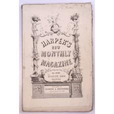 Harper's Monthly August 1858