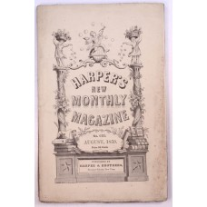 Harper's Monthly August 1859