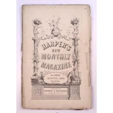 Harper's Monthly August 1860