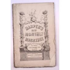 Harper's Monthly December 1860