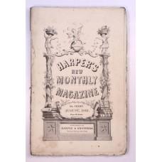 Harper's Monthly August 1861