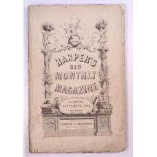 Buffalo Country, Monitor, Harper's September Monthly 1862 Brewerton, Civil War
