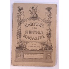 Genesee Valley, Harper's Monthly September 1892, Literary Paris, Lot no. 249, New England Meeting, Death-Masks