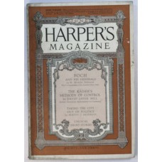Camps in China, Jew, Harper's Monthly June 1918,Foch, Petain, Haig, and Pershing, Kaiser