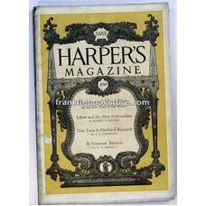 Birds, Arctic, Harper's Monthly May 1919 Sheffield, Spirit Levitation,William Dean Howells