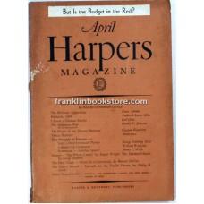 Harper's Monthly April 1938