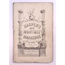 Harper's Monthly April 1853