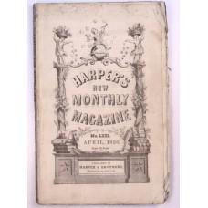 Harper's Monthly April 1856