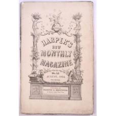 Harper's Monthly August 1854