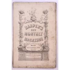 Harper's Monthly December 1854