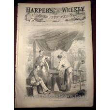 1861 Harper's Weekly September 21 Civil War