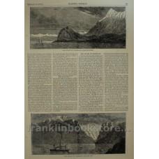 1875 Strait of Magellan - Cape Froward, Glacier Bay
