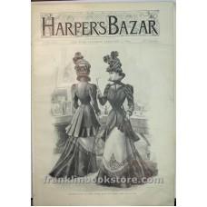 Harper's Bazar February 11 1899 Midseason Coat of Green from Maison Oger
