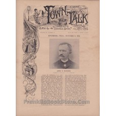 Fitchburg Town Talk 1891 Massachusetts, Seance, YMCA