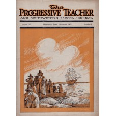 Progressive Teacher November 1921 Thanksgiving 1620