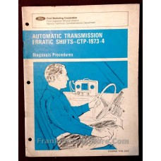 Ford Automatic Transmission Erratic Shifts 1972 Manual