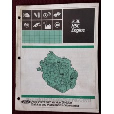 Ford 2.3 HSC Engine Manual 1983
