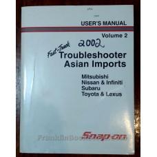 Mitsubishi, Nissan, Subaru, Toyota Bulletin Manual 2001, 2000, 1999 Diagrams & Wiring