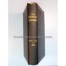 Medical Record Volume 19 1881
