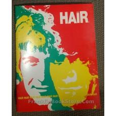 Hair 1969 Theatre Souvenir, Tarot Card, Flyer playbill