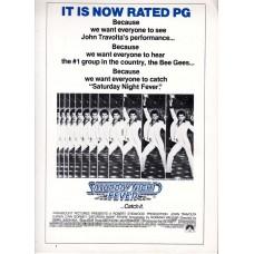 Saturday Night Fever Movie Press Kit 1979 Photos Handbook