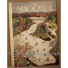 January 16, 1943 The New Yorker  World War II, After You, My Dear Alphonse, Race