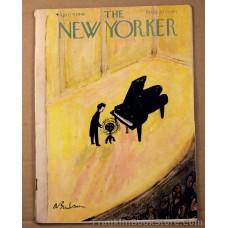 Piano Player and his Stool The New Yorker April 9, 1949 Vladimir Nabokov, Zuni Shalako