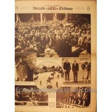 Charles Lindbergh February 19 1928 New York Herald Tribune Earl Haig, Mothers and Baby Photos