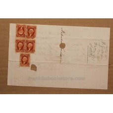 1871 Handwritten Loan and Revenue Stamps