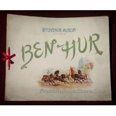 Ben Hur Scenes of the Play Souvenir Album 1900